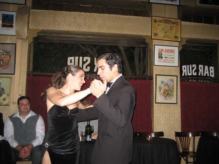 Bailando no Bar Sur