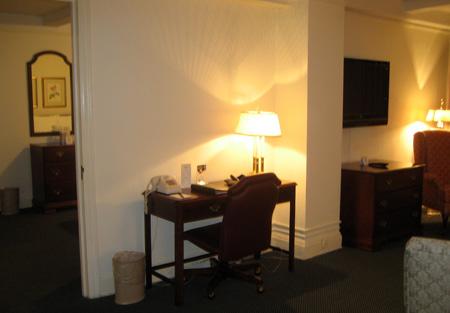 O cantinho-escritório