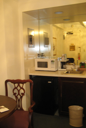 A mini-cozinha