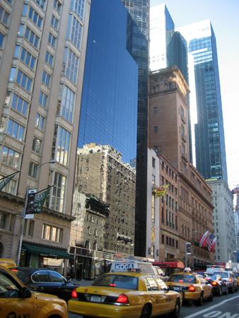 Movimento na 57th Street