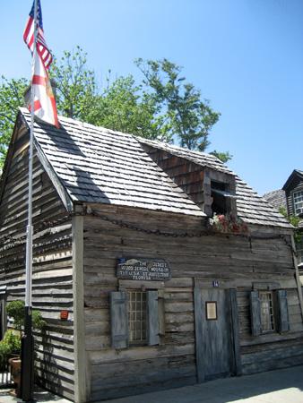 A primeira escola dos EUA