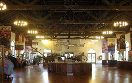 O centro de visitantes de St. Augustine