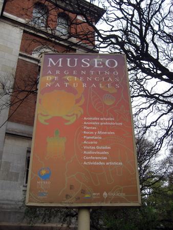 """Museo Argentino de Ciencias Naturales - ou o """"Museu dos Dinossauros"""""""