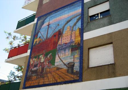 Casas e cores: de volta a La Boca