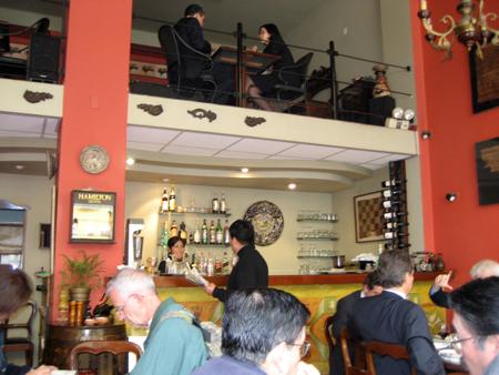 """E o interior do mesmo café """"sem nome""""..."""