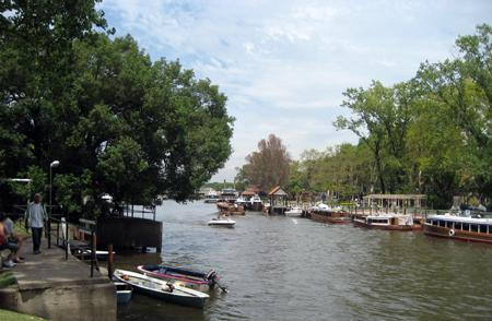 Vista do Río Tigre
