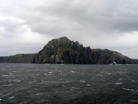 Um dia calmo no Cabo Horn