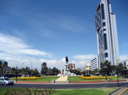 Plaza Baquedano, Santiago
