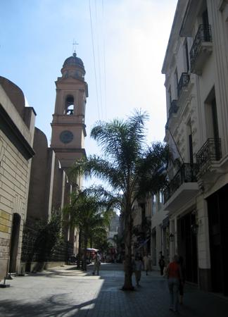 Peatonal Sarandi - a caminho da Plaza Matriz