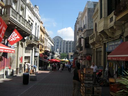 Ruas da Ciudad Vieja