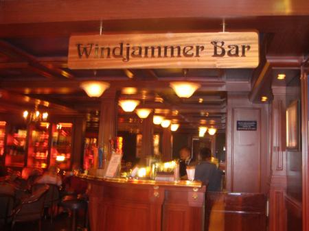 Windjammer Bar - meu fim de noite!