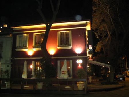 O restaurante Ricci, em Punta Carretas