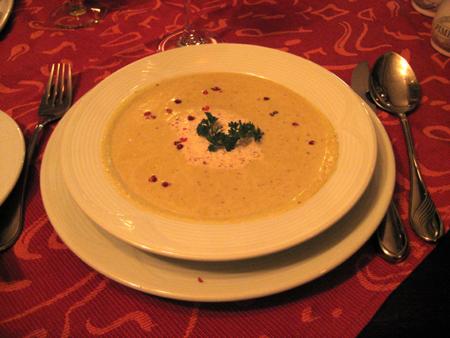 A deliciosa sopa de cebola do Ricci
