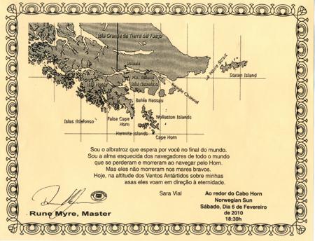 Dobrando o Cabo Horn