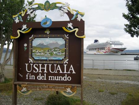 Quarta escala: Ushuaia