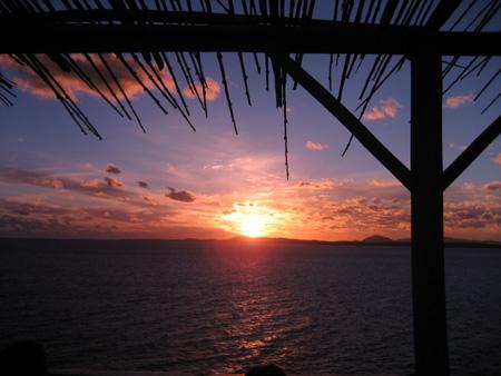 Pôr-do-sol no Casapueblo