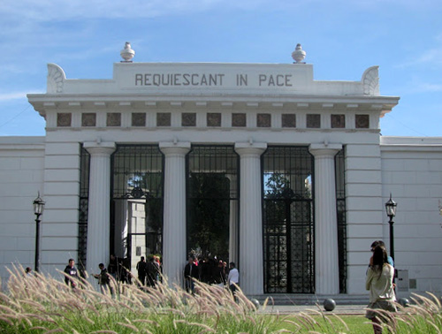 Visita guiada ao Cemitério da Recoleta