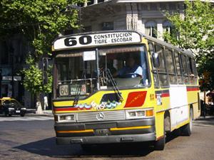 Nem táxi nem metrô: andando de ônibus em Buenos Aires