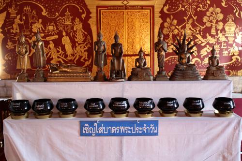 Os Budas dos dias da semana