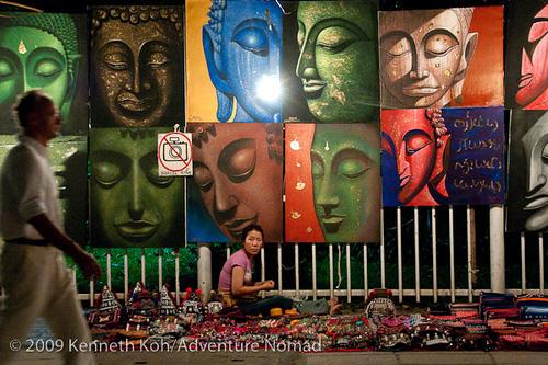 Mercado Noturno (Fonte: http://www.flickr.com/photos/kenkoh/3280779191)