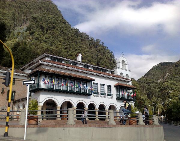 EStação de Funicular - Cerro de Monserrate