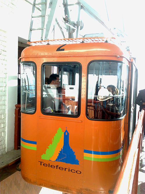 Funicular - Cerro de Monserrate