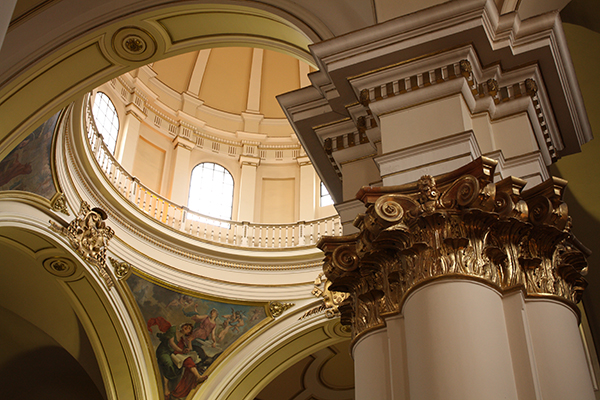 Detalhe do interior da Catedral
