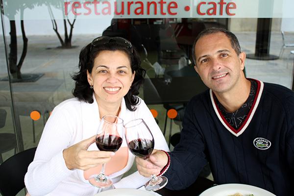 Vinhozinho no Café La Manzana