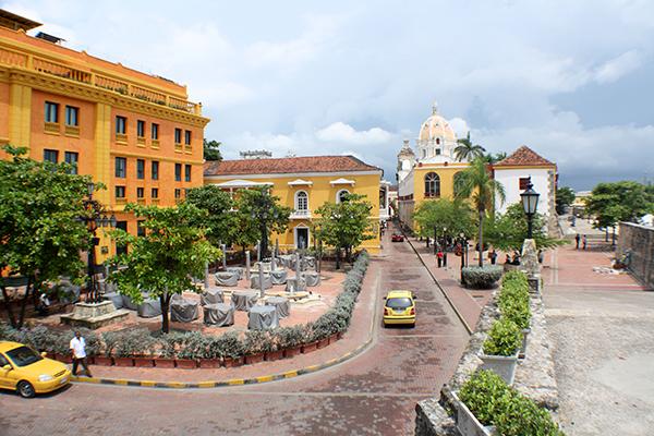 Plaza Santa Teresa - Cartagena