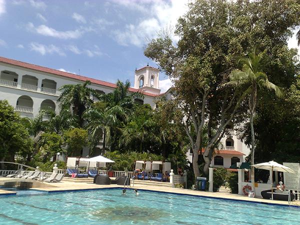 Piscina do Hotel Caribe
