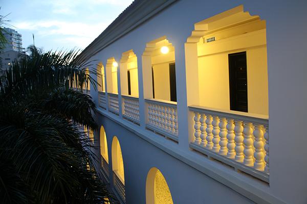 Corredores do Hotel Caribe