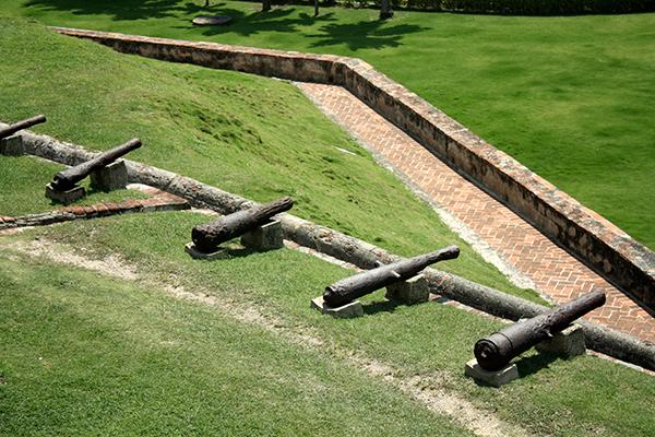 Bateria de canhões do Castillo San Felipe