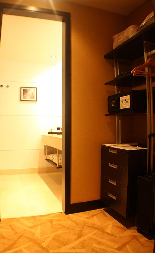 O closet...