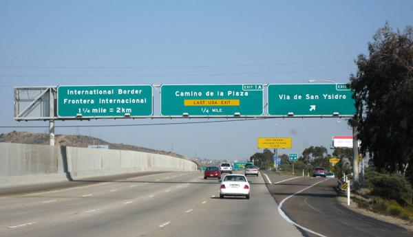 Quase na fronteira EUA-México