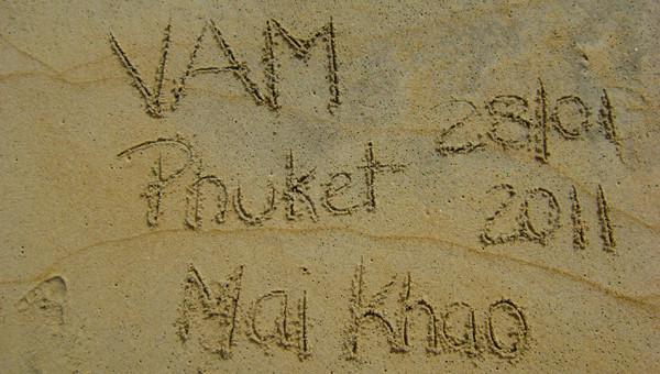Dias 33 a 36, 27 a 30/01 – Mai Khao, Phuket
