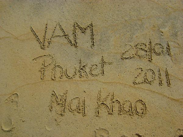VAM - Mai Khao - 28/01/2011