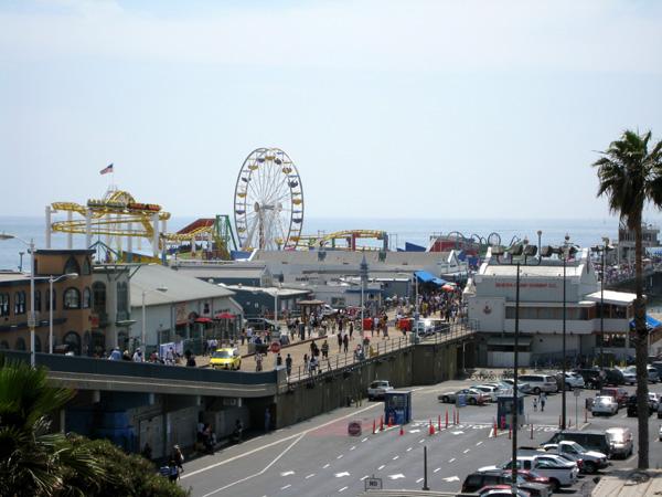 Parque do Pier de Santa Monica