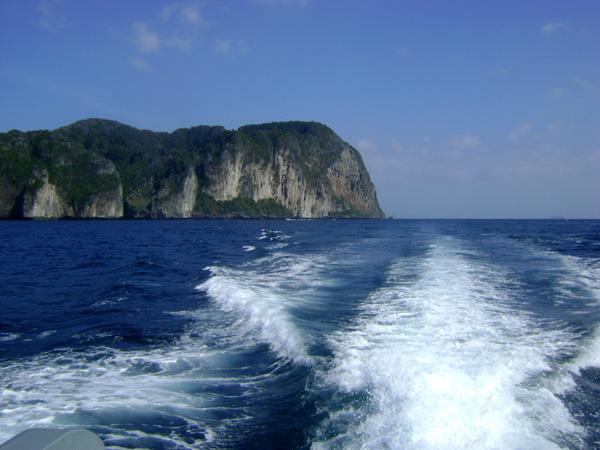 ... no rumo de Phuket!