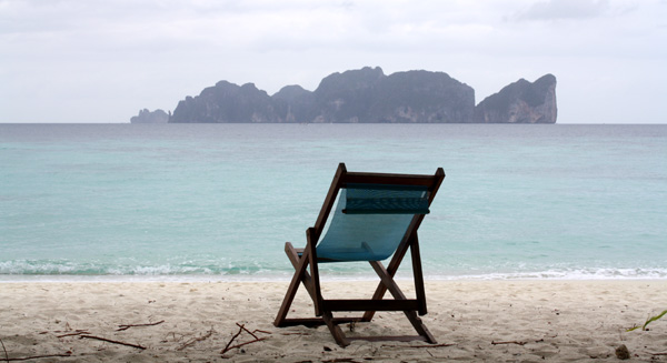 Calmaria na praia...