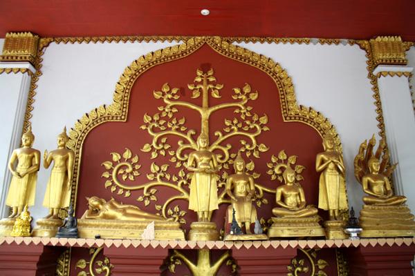Mais uma vez, os Budas dos dias da semana...