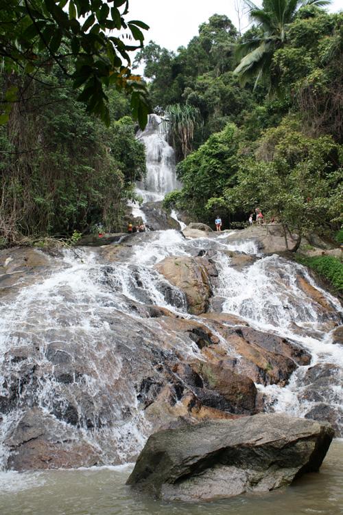 A cachoeira
