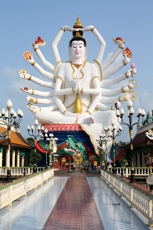 Guanyin - Wat Plai Laem