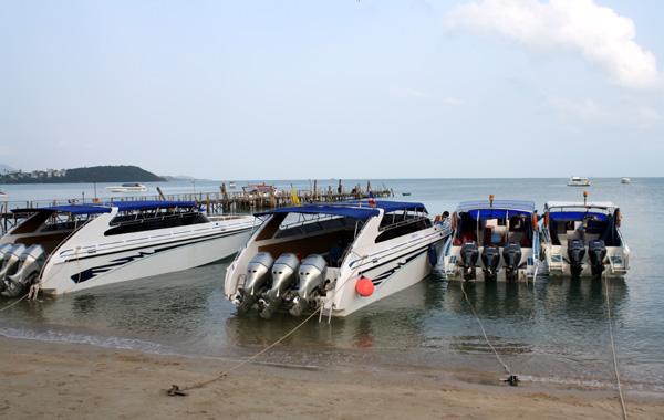 Pier - Big Buddha Beach