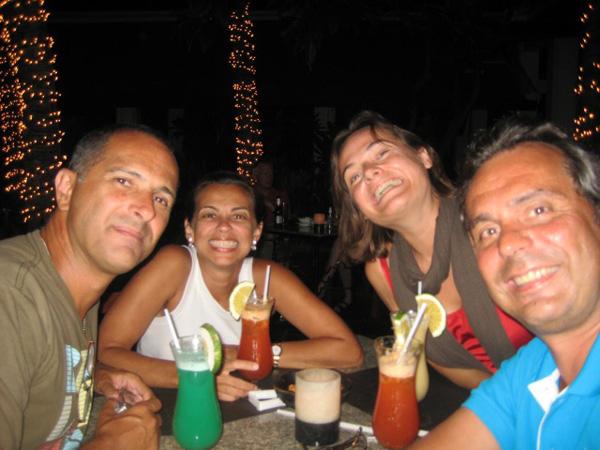 Já em Bangkok, com Yvonne e Oliver