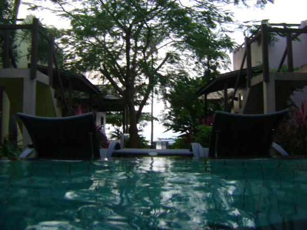 Relax na piscina