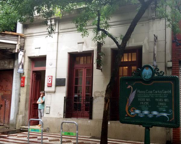 O Museo Casa Carlos Gardel