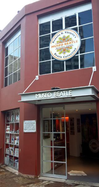 O Museo Beatle - a maior coleção particular de objetos referentes aos Beatles fora da Inglaterra